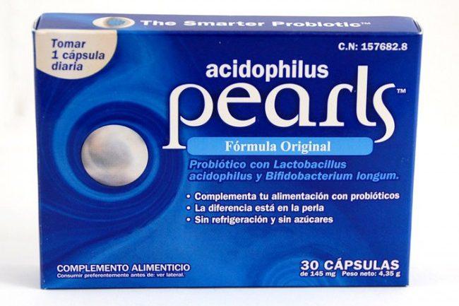 pearls probioticos formula femina